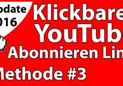 youtube abonnieren link